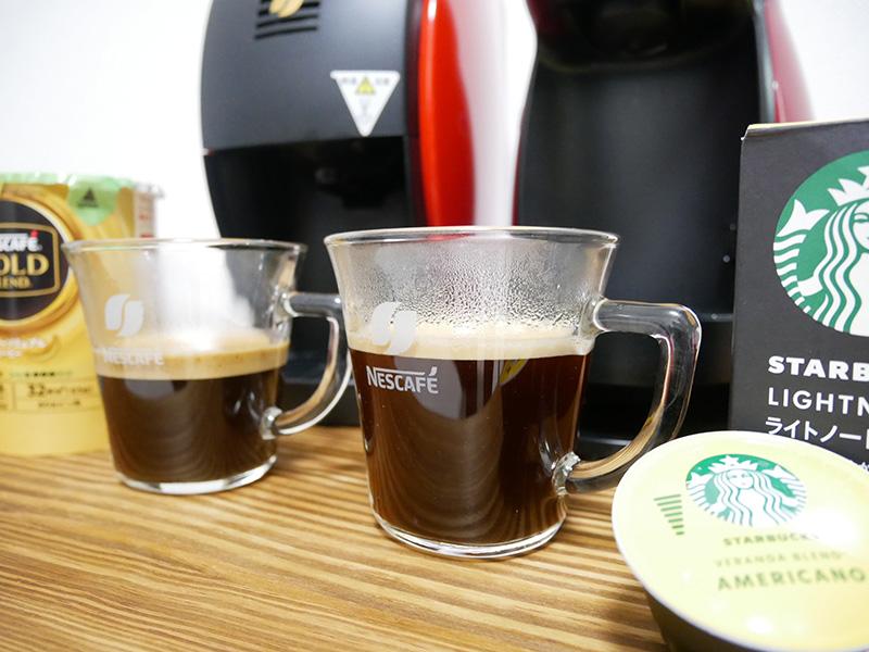 【口コミ】ネスカフェ「バリスタ」とドルチェグストを比較!コーヒーの味はどっちが美味しいのか徹底レビュー!