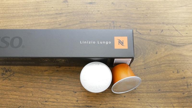 ネスプレッソのカプセル「リニツィオ・ルンゴ」 写真2