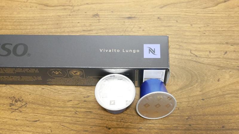 ネスプレッソのカプセル「ヴィヴァルト・ルンゴ」 写真2