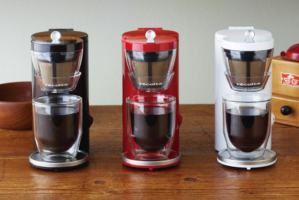 レコルト コーヒーメーカー ソロカフェ SLK-1W