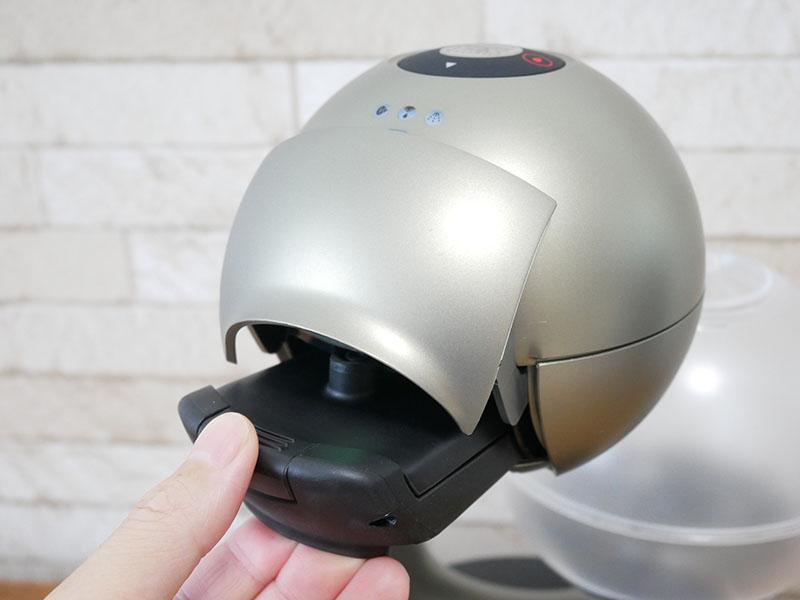 【レビュー】ドルチェグスト「エスペルタ」の使い方:カプセルホルダー取り出し