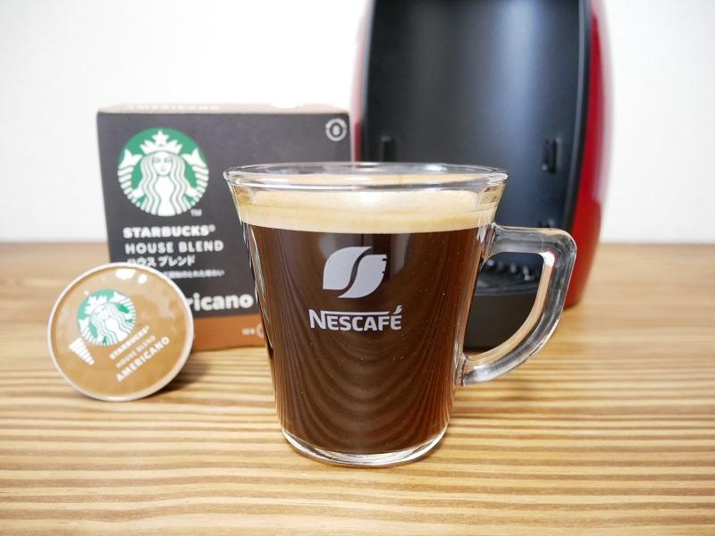 最新ドルチェグスト「ジェニオ アイ」のコーヒー写真