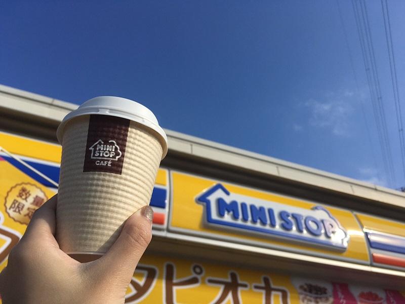 ミニストップのホットコーヒー