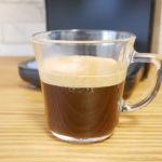 バリスタ デュオDuoで淹れたブラックコーヒー