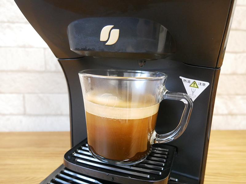 バリスタ デュオDuoの使い方:コーヒーの作り方③