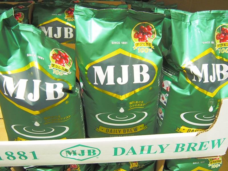 MJB デイリーブリューアラビカ豆100