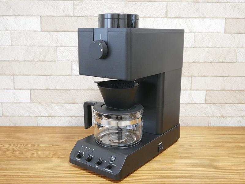 ツインバード コーヒーメーカー「CM-D457」の口コミ評判レビュー