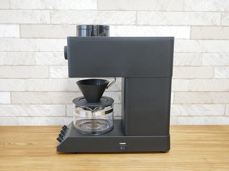 ツインバードのコーヒーメーカー「CM-D457」のデザイン:横