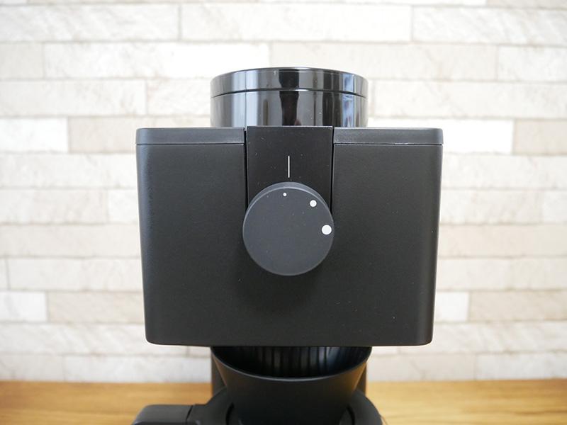 ツインバードのコーヒーメーカー「CM-D457」のダイヤル
