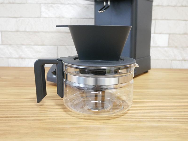 ツインバードのコーヒーメーカー「CM-D457」のガラスサーバー