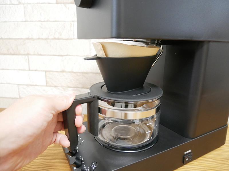 ツインバードのコーヒーメーカー「CM-D457」の使い方(淹れ方)③ガラスサーバー