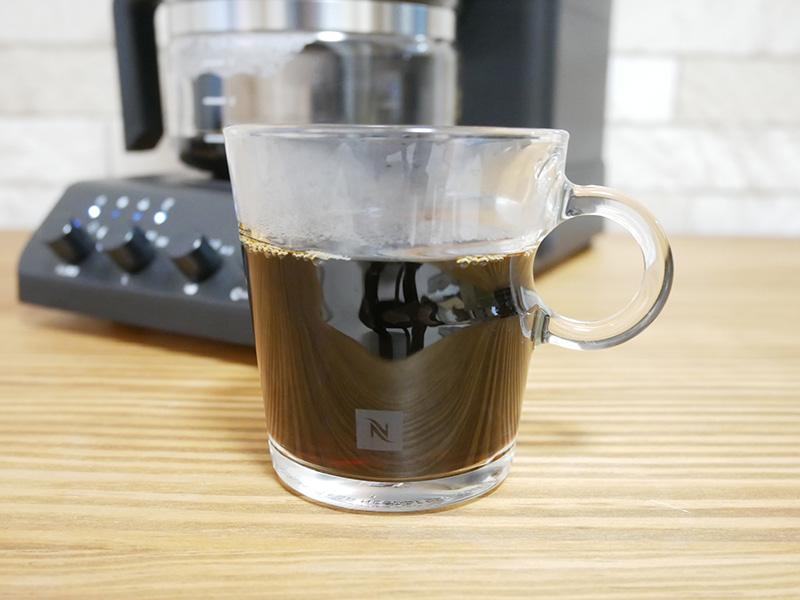 ツインバードのコーヒーメーカー「CM-D457」の使い方(淹れ方):コーヒー完成