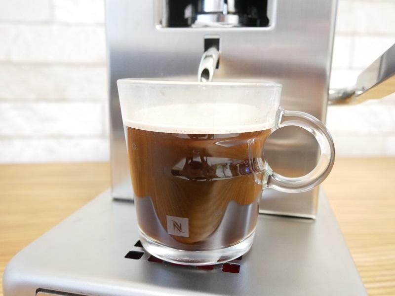 ルカフェで淹れたコーヒー