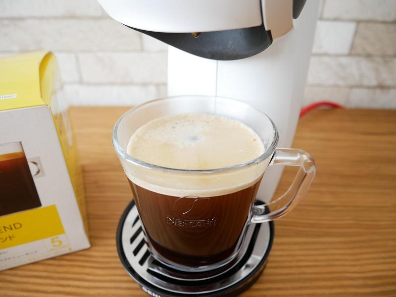 ドルチェグスト『ジェニオエス』のコーヒー